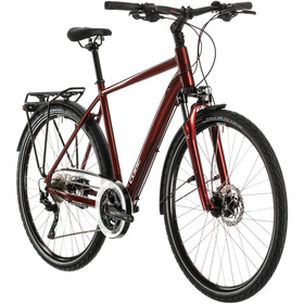Cube Touring EXC, red/grey